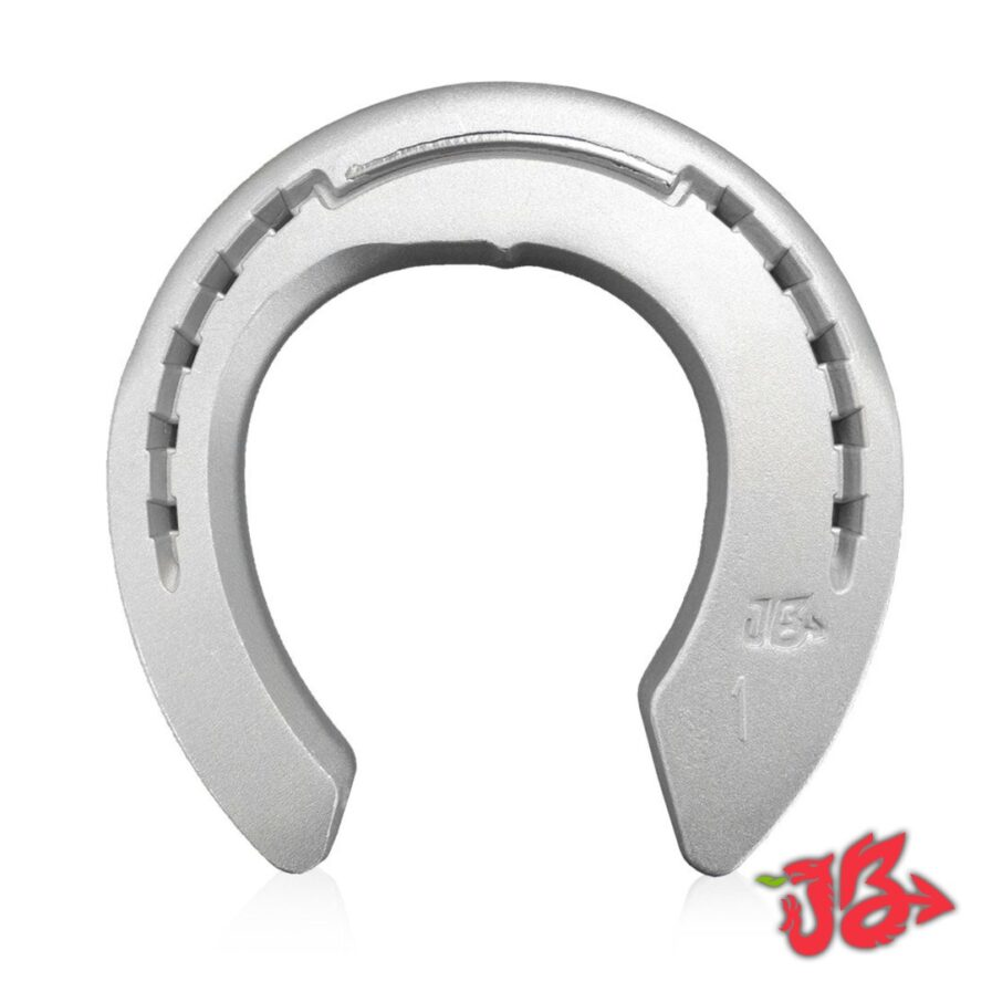 Aluminium Collateral Shoe - visit the official Jim Blurton shop to buy online, horseshoes, farrier tools & accessories distributed worldwide.